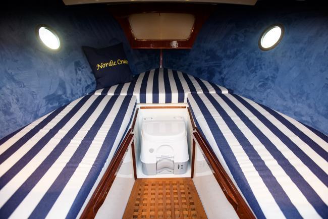 Nordic Cruiser cabin toilet